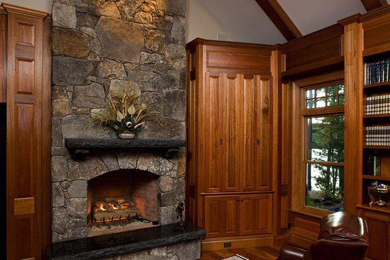 Lake House 5 Fireplaces