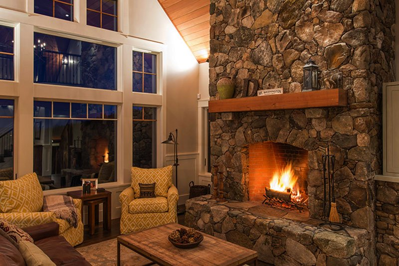 Mountain Living 2 Fireplace