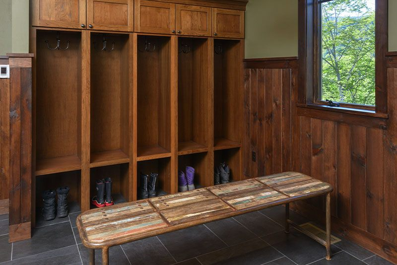 Ski House 2 Mudroom