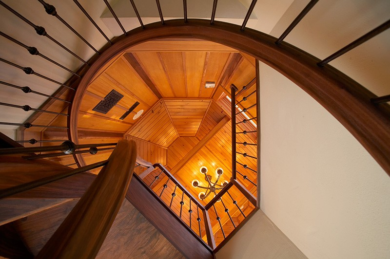 Stairs to Crow Nest